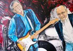 Eric and Steve - acrylics on canvas 100x70cm - 2015