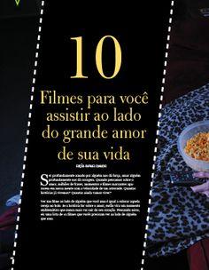 """Matéria sobre Cinema """"10 Filmes para você assistir ao lado do grande amor de sua vida""""  - Revista Vitrine Brasil - Indesign - Página 1 de 5"""