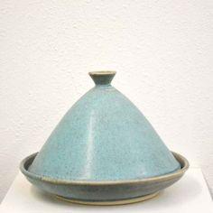Blue-green clay tajine | Kneeland Co. Mercado