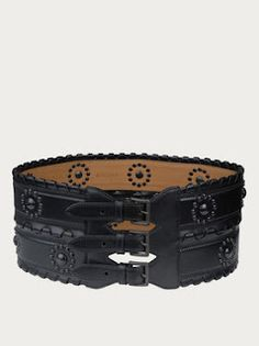 Isn't it amazing how I can spend money? It doesn't look like it, but this Alaia belt is $2,715. I usually only wear it with cheap brands like HM or Ann Taylor because I like the irony. I call it fashion slumming.