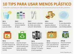 El plástico es uno de los residuos hogareños más dañinos, y su consumo puede disminuirse a casi cero.