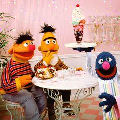 Happy Birthday Ernie (and calm down Bert)!