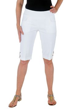 Bow Lattice Bermuda Short