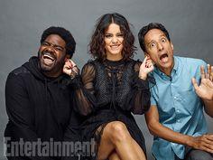 Comic-Con 2016 Star Portraits: Day 2 | Ron Funches, Vanessa Hudgens, and Danny Pudi, 'Powerless' | EW.com