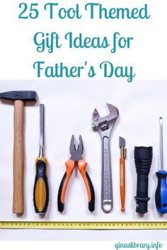 Father's Day is on Sunday, June 18th. Dad's love tools, at least my husband does. Here are 25 tools you can purchase easily on Amazon.