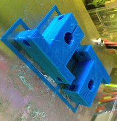 FolgerTech 2020 Prusa Rod Mounts by CheopisIV - Thingiverse 3d Printer Projects, 3d Projects, Useful 3d Prints, Prusa I3, Pattern Sketch, 3d Printer Parts, Electronics Projects, Cnc Router, 3 D