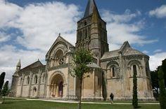 Aulnay Church - Aulnay-de-Saintonge, France