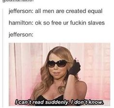 Actually Thomas Jefferson wrote a whole entire few paragraphs against slavery in the Declaration of Independence, but was forced to remove it as Georgia and north Carolina wouldn't vote for it.