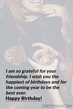 Short Birthday Wishes Messages For Best Friend - Celebrities Photos, Images, Wallpapers, Wishes Messages Birthday Wishes For A Friend Messages, Happy Birthday Best Friend Quotes, Short Birthday Wishes, 18 Birthday, Message For Best Friend, Birthday Quotes For Best Friend, Birthday Wishes For Myself, Sister Birthday Wishes Funny, Best Friend Messages