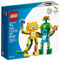 LEGO Rio 2016 Tom e Vinicius