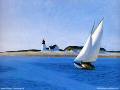 Art :  Edward Hopper   Beaux Tableaux