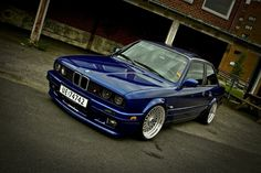 E30... blue alpina #soon