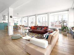 Katerina: Family apartment in Madrid Interior Exterior, Interior Design, Interior Modern, Indoor Hammock, Family Apartment, Loft Studio, Love Your Home, Plan Design, Home Living Room