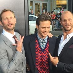 "573 Likes, 12 Comments - Alexander Skarsgard (@worldofskarsgard) on Instagram: ""OMGGGGGAWWWD! NEW PIC!!! Alex Gustaf & Bill at the premiere #itmovieofficial Today September…"""