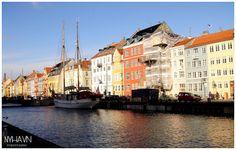 Nyhavn Denmark Dänemärk Kopenhagen Copenhagn