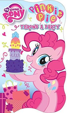 My Little Pony Card Books (Pinkie Pie Throws a Party)  My little Pony Shaped Books...   https://nemb.ly/p/EkL1urRBW Happily published via Nembol