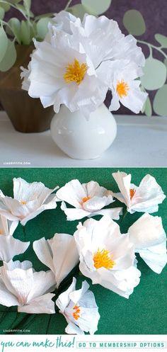 218 best crepe paper flowers images in 2018 paper flowers diy