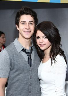 David Henrie and Selena Gomez