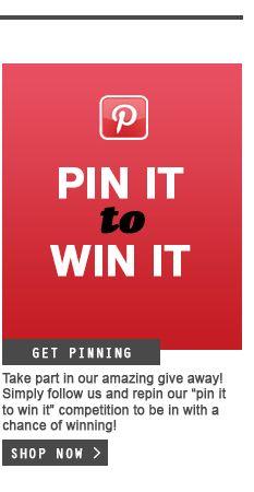 Pin it to win it!