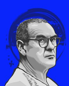 Portrait illustrations of the big six coach of Premier League Big Six, Portrait Illustration, Premier League, Graphic Art, Chelsea, Behance, Football, Illustrations, Collection