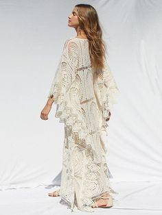 L-Peach Womens Summer Fashion V Neck Stripe Printed Loose Long Kaftan Bikini Cover Up Elegant Beach Dress One Size
