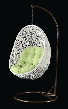 Ahyi Outdoor Hanging Chair - perfect for a patio or porch! $420.99 with free shipping!