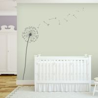 Dandelion Blowing in the Wind Wall Decal -Floral Vinyl Wall Decal, Nature Wall Decal, Dandelion Nursery, Blowing Dandelions, Dandelion Decal Kids Room Wall Decals, Nursery Wall Stickers, Wall Decal Sticker, Vinyl Wall Decals, Nursery Wall Art, Wall Murals, Nursery Murals, Girl Nursery, Nursery Ideas