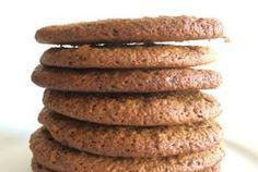 Sprøde cookies med peanutbutter og chokolade