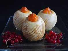 Christmas Baked Apples with Mashed Sweet Potatoes @FoodBlogs