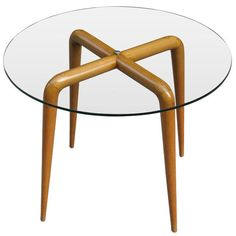 Osvaldo Borsani, Side Table, 1940s.