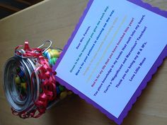 Lillies End Of The Year Birthday Gift To Her Teacher