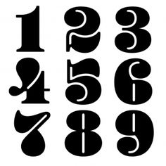 Type design information compiled and maintained by Luc Devroye. Typography Love, Typography Letters, Graphic Design Typography, Lettering Design, Number Typography, Calligraphy Fonts, Type Design, Logo Design, Number Fonts