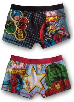 d0dc12efc0b8 Marvel Comics pack of 2 Boxers #marvel #boxers #avengers #underwearboy  Marvel Avengers