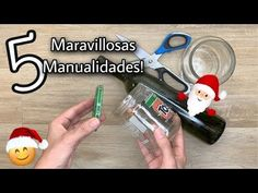 5 Ideias Geniais DIY Natal/MANUALIDADES NAVIDEÑAS 2020/Christmas Decor 2020 - YouTube Diy Natal, Reuse, Triangle, Glass, Youtube, Crafts, Ideas, Embroidery Designs Free, Christmas Crafts
