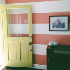 Dutch door from kitchen to laundry (frost window?)