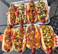 Youll need at least eight more lives to indulge in these gourmet hotdogs Gourmet Hot Dogs, Hot Dog Recipes, Cucumber Recipes, Food Platters, Food Goals, Cafe Food, Aesthetic Food, Food Cravings, Food Inspiration