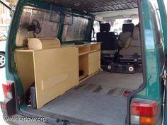 vw transporter t4 interior - Pesquisa Google