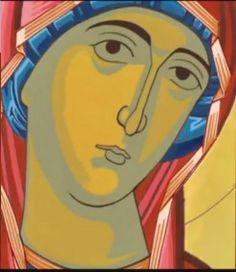 Πατερικός: Πως ζωγραφίζουμε μιά Αγιογραφία-Δεύτερο Στάδιο (video με αγιογράφηση εικόνας του Χριστού) Face Icon, Byzantine Icons, Cartoon Icons, Orthodox Icons, Religious Art, Art Techniques, Madonna, Spirituality, Techno