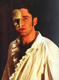 Gerard Butler as the Phantom... This movie makes me cry every.single.time. so good!