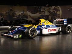 1992 Williams FW14B. El mejor auto de f1.