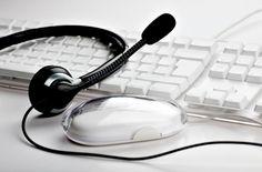 Keyboard And Headset Stock Photo 172174004