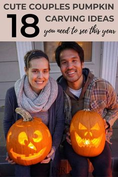 I'm in love with these pumpkin carving ideas for couples!! Legit just got soooo excited for Halloween!! Love that these ideas are simple enough for me lol Creative Date Night Ideas, Romantic Date Night Ideas, Romantic Dates, Cute Pumpkin Carving, Date Night Ideas For Married Couples, Night Dinner Recipes, Cheap Date Ideas, New Wife