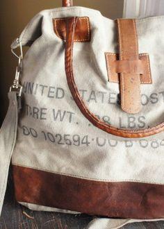 Postal Strap Bag