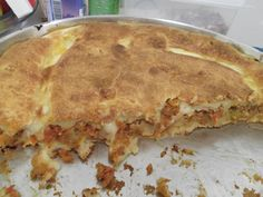 Receita de Torta Simples de Camarão(Tipo Empadão).