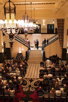 Ballroom Wedding at The Mayo Hotel Captured by Kristen Edwards Photography | Lauren + Sean | Brides of Oklahoma