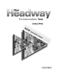 New headway Plus preintermediate tests