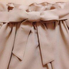 ガーリーな子、必見洋服のリボンを可愛くむすぶ裏技→お辞儀するだけ#その他アレンジ(4564)|【おかりえブログ】|by おかりえ(松岡里枝)|CROOZ blog