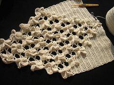 Croche e trico da Fri, Fri´s crochet and tricot: Juni 2013  free diagram/pattern on site. So Beautiful!