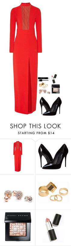 """Untitled #523"" by h1234l on Polyvore featuring Tom Ford, Dolce&Gabbana, GUESS, Pieces, Bobbi Brown Cosmetics, Christian Dior, Sigma Beauty, women's clothing, women and female"