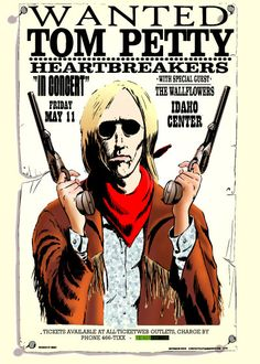 GigPosters.com - Tom Petty And The Heartbreakers - Wallflowers